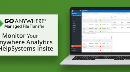 Monitor Your GoAnywhere Analytics with HelpSystems Insite