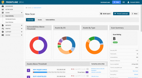 Vulnerability Management - reporting